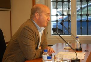 Luis Venta, en la Junta.
