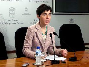 Emma Ramos, en la Junta General.