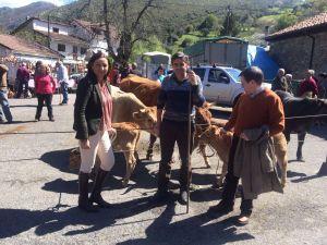 Marif� G�mez, con Rafael Alonso y Carlos Salazar.