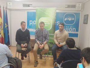 David González Medina, con Pablo Álvarez-Pire y Andrés Ruiz.