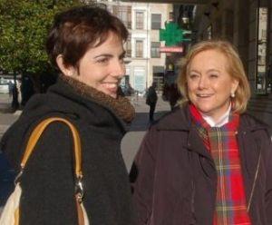 Emma Ramos, con Mercedes Fern�ndez.