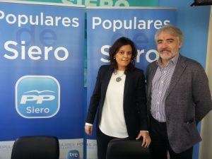 Beatriz Polledo y Crist�bal Lapuerta.