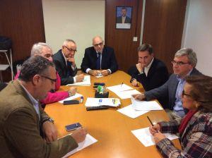 Reunión en Gijón de la Comisión de Educación del PP.