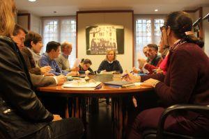 Reunión de trabajo del Grupo Parlamentario Popular.