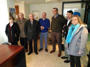 Reunión celebrada en Navia sobre los problemas del Área Sanitaria I.