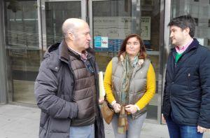 Luis Venta, Sofía Cosmen y José Ramón Fernández.