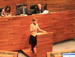 Emma Ramos defiende la Proposición de Ley de Emprendedores.