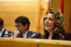Teresa Mallada, en el 17 Congreso autonómico del PP.