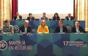 Primera reunión del nuevo Comité Ejecutivo Autonómico del PP asturiano.