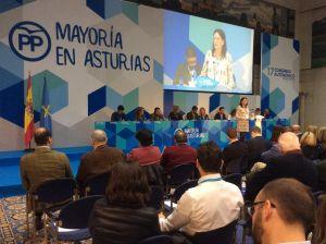 Susana López Ares, en el 17 Congreso autonómico del PP.