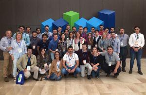 La delegación asturiana, en el congreso nacional de Nuevas Generaciones.