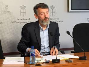 Matías Rodríguez Feito, durante la rueda de prensa.