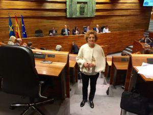 Gloria García.