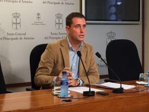 David González Medina, durante la rueda de prensa.