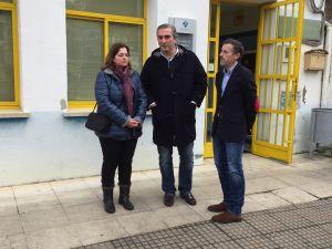 Carlos Suárez y Matías Rodríguez Feito, en Navelgas (Tineo).