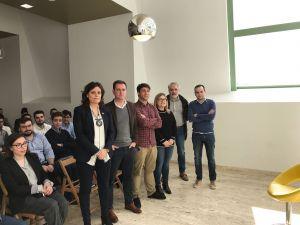 David González Medina, en Pola de Siero, en la presentación de la
