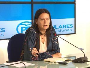 Susana López Ares, durante la rueda de prensa.