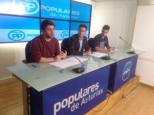Andrés Ruiz, David González Medina y Gonzalo Cadrecha.