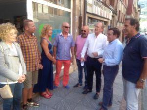 Reunión del PP del Caudal en Moreda (Aller).