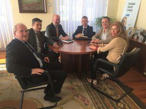 Reunión con el Club Asturiano de la Calidad.