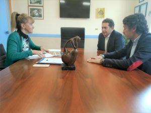 Carlos Suárez y Mariano Marín, durante la rueda de prensa.