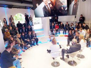 Gázquez presentó las medidas del PP para autónomos y pequeños empresarios.