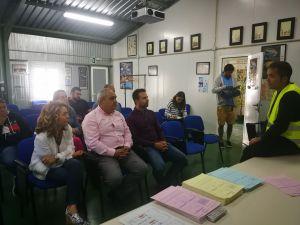 Reunión con la Asociación de Pescadores de Las Mestas del Narcea